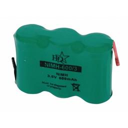HQ Oplaadbare NiMH Batterij Pack 3.6 V 60 mAh 1-Pack