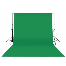 König Studio Achtergrond 295 x 295 cm Groen