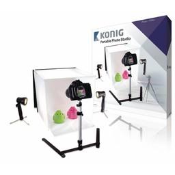 König Mini Fotostudio Opvouwbaar 40 x 40 x 40 cm