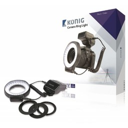 König On-Camera 60 LED Camera Ring Lamp