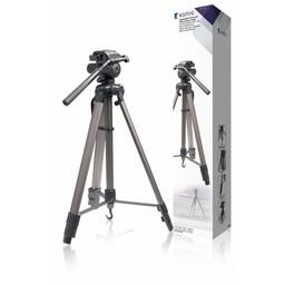 König Camera/Video Statief Pan & Tilt 161 cm Zwart / Zilver