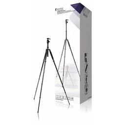König Professioneel Camera/Video Statief Balhoofd 145 cm Zwart