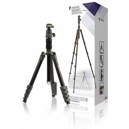 König Professioneel Camera/Video Statief Balhoofd 137 cm Zwart