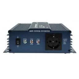 HQ Pure Sinus Omvormer 12 VDC AC 230 V 600 W F (CEE 7/3)