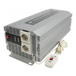 HQ Gemodificeerde Sinus Omvormer 12 VDC - AC 230 V 2500 W F (CEE 7/3)
