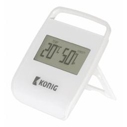 König Thermometer/Hygrometer Binnen Wit