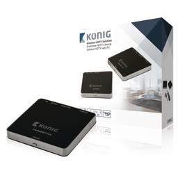 König 5 GHz Draadloze HDMI Zender 1080p / 3D Support - Bereik 30 m