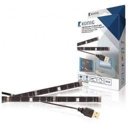 König TV Mood Light LED 60 lm 1000 mm RGB