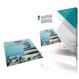 König Digitale Personenweegschaal 150 kg