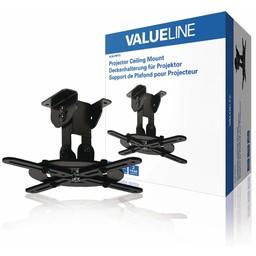 Valueline Projector Plafondbeugel Draai- en Kantelbaar 10 kg Zwart