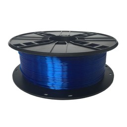 PETG plastic filament voor 3D printers, 1.75 mm diameter, blauw