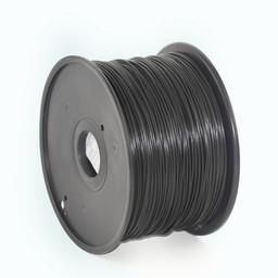 ABS plastic filament voor 3D printers, 3 mm diameter, zwart