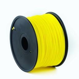 PLA plastic filament voor 3D printers, 1.75 mm diameter, geel