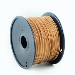 PLA plastic filament voor 3D printers, 3 mm diameter, goud