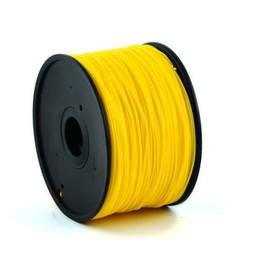 PLA plastic filament voor 3D printers, 3 mm diameter, goudgeel