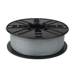 PLA plastic filament for 3D printers, 1.75 mm diameter, 0.6 kg narrow spool, grey color