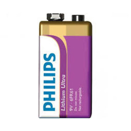 Huismerk Philips lithium Ultra 9V blokje