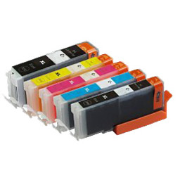 Huismerk Set cartridges voor Canon PGI 570XL 571XL