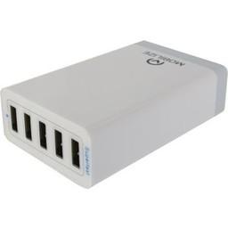 Mobilize Lader 5 - Uitgangen 8.0 A USB Wit