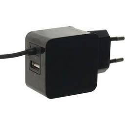 Mobilize Lader 2 - Uitgangen 3.1 A USB / USB-C Zwart