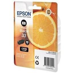 Epson Epson T3341 Foto Zwart 4,5ml (Origineel)
