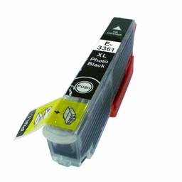 Huismerk Huismerk inktcartridge voor Epson 33 XL Photo Black (T 3361)