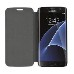 Booklet case - Samsung Galaxy S7 Edge - Black