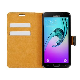 Wallet Case Slim - Samsung Galaxy J3 2016 - Black