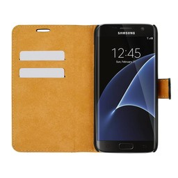 Wallet Case Slim - Samsung Galaxy S7 Edge - Black