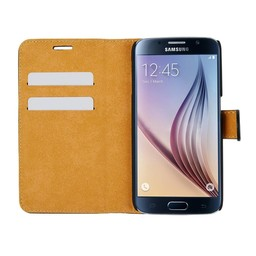 Wallet Case Slim - Samsung Galaxy S6 Edge - Black