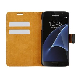 Wallet Case Slim - Samsung Galaxy S7 - Black