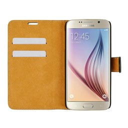 Wallet Case Slim - Samsung Galaxy S6 - Black