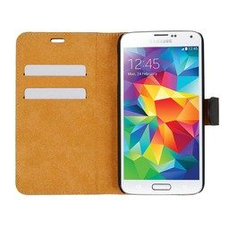 Wallet Case Slim - Samsung Galaxy S5 - Black
