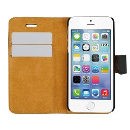 Wallet Case Slim - Apple iPhone 5/5S/SE - Black