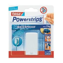 Tesa Tesa powerstrips waterproof tandenborstelhouder wit