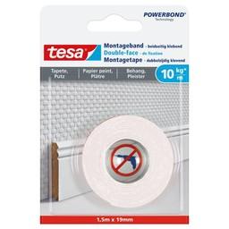 Tesa Tesa montage tape gevoelige oppervlakken 77742 1,5 m x 19 mm