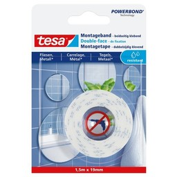Tesa Tesa montage tape waterproof 77744 1,5 m x 19 mm
