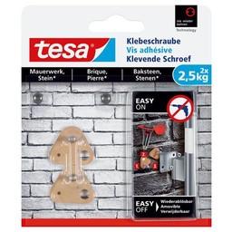 Tesa Tesa Klevende Schroef bakstenen driehoek 77901 2,5 kg
