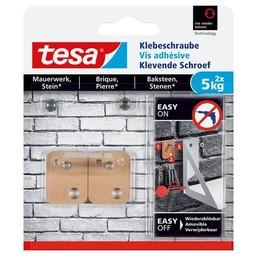 Tesa Tesa Klevende Schroef bakstenen vierkant 77905 5 kg