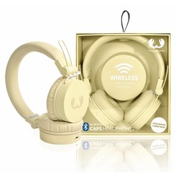 Fresh 'n Rebel Caps Headset On-Ear Bluetooth Ingebouwde Microfoon Buttercup