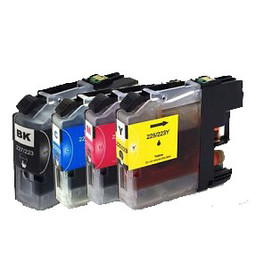 Huismerk Set cartridges voor Brother LC 223(met chip)