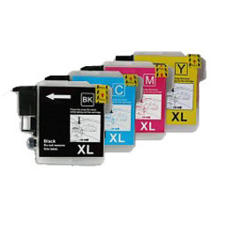 Huismerk Set cartridges voor Brother LC 1220 1240 1280