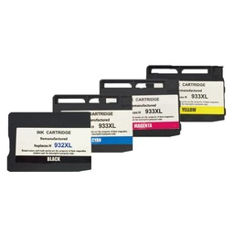 Huismerk Set cartridges voor Hp 932XL 933XL