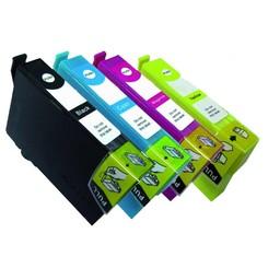 Huismerk Set cartridges voor Epson T0801 t/m t0804