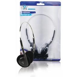 HQ Hoofdtelefoon On-Ear 3.5 mm Zwart