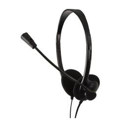LogiLink LogiLink Stereo Headset met Microphone Easy zwart