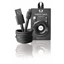 Fresh 'n Rebel USB 2.0 Kabel A Male - Micro-B Male Fabriq 1.50 m Concrete