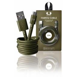 Fresh 'n Rebel USB 2.0 Kabel A Male - Micro-B Male Fabriq 1.50 m Army