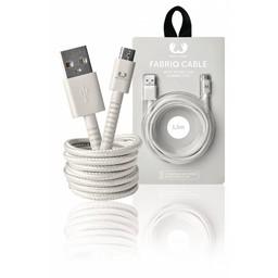 Fresh 'n Rebel USB 2.0 Kabel A Male - Micro-B Male Fabriq 1.50 m Cloud