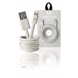 Fresh 'n Rebel Data en Oplaadkabel Apple Lightning - USB A Male 1.50 m Cloud